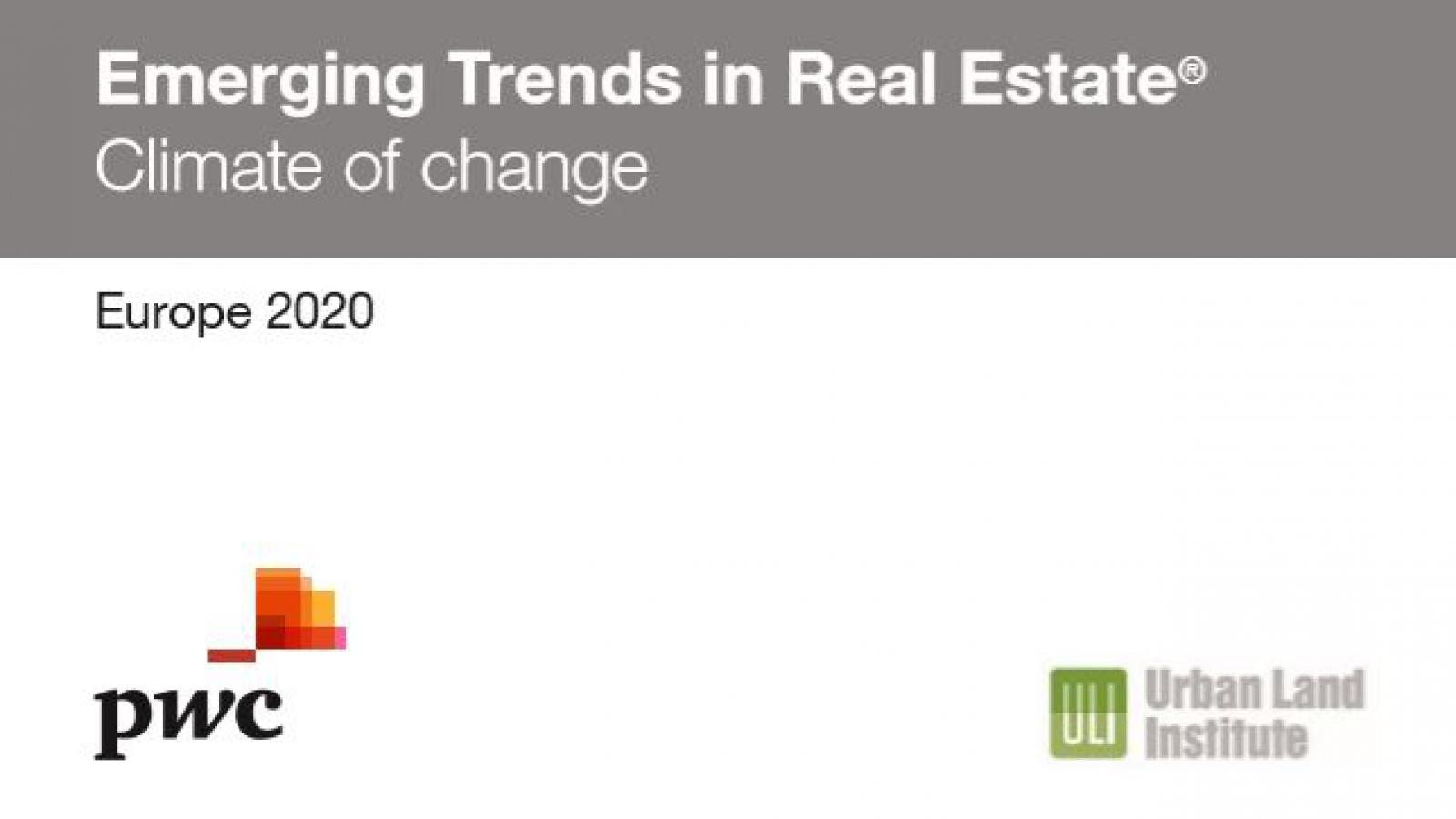 emerging trends Europe 2020 PwC ULI
